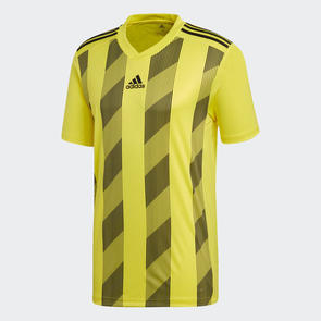adidas Striped 19 Jersey – Yellow/Black