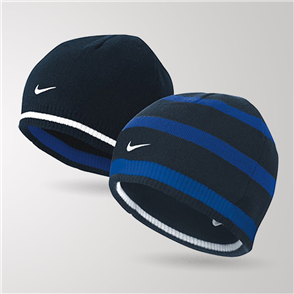 Nike Cat ID Reversible Beanie – Navy
