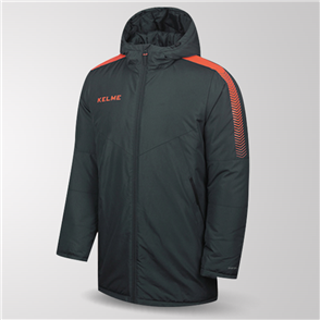 Kelme Capa Padded Jacket – Grey/Orange