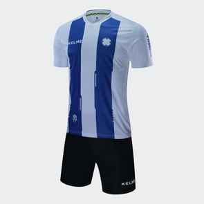 Kelme Banda Jersey & Short Set – White/Royal Blue