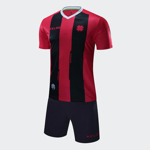 Kelme Banda Jersey & Short Set – Red/Black