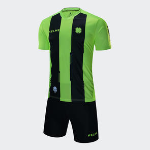 Kelme Banda Jersey & Short Set – Neon Green/Black