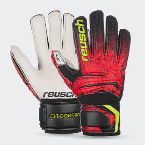 Reusch Junior Fit Control SD Open Cuff Finger Support GK Gloves