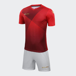 Kelme Cruz Jersey & Short Set – Red/Gold