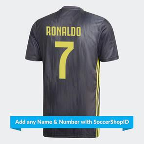 adidas 2018-19 Juventus Third Shirt – PLAYER PRINTED