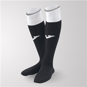 Joma Calcio 24 Sock – Black/White