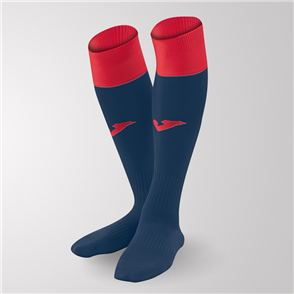 Joma Calcio 24 Sock – Navy/Red