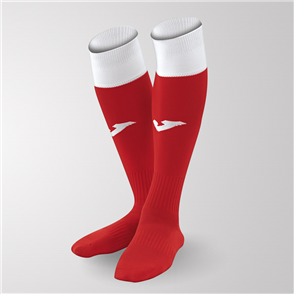 Joma Calcio 24 Sock – Red/White