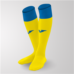 Joma Calcio 24 Sock – Yellow/Blue