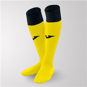 Joma Calcio 24 Sock – Yellow/Black