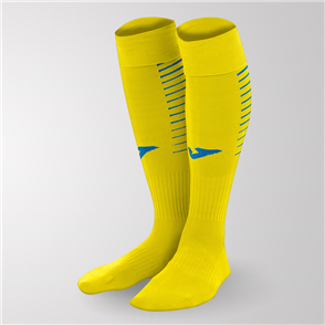 Joma Premier Sock – Yellow/Blue