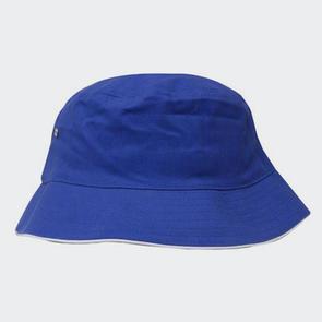 TSS Brushed Sports Twill Bucket Hat – Blue