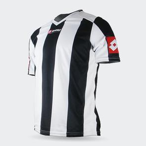 Lotto Junior Prestige Shirt – White/Black