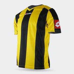 Lotto Junior Prestige Shirt – Yellow/Black