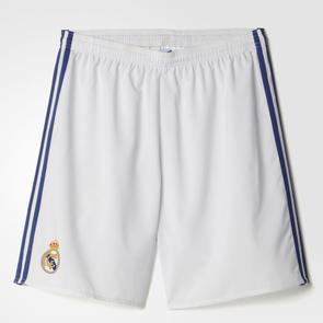 adidas 2016-17 Real Madrid Home Shorts