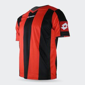 Lotto Prestige Shirt – Red/Black