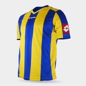 Lotto Junior Prestige Shirt – Yellow/Blue