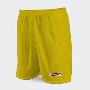 Lotto Junior Trofeo Short II – Yellow