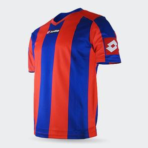 Lotto Junior Prestige Shirt – Red/Blue
