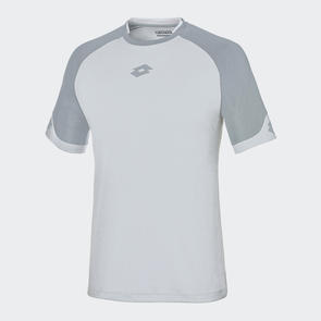 Lotto Delta Shirt – White/Grey
