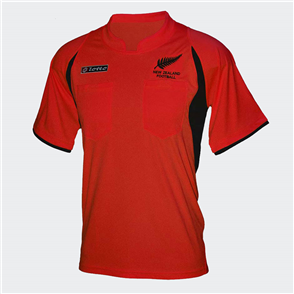 Lotto New Zealand Referees Shirt – Red