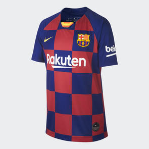 Nike Junior 2019/20 Barcelona Home Shirt