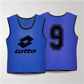 Lotto Mesh Numbered Bib Set – Royal