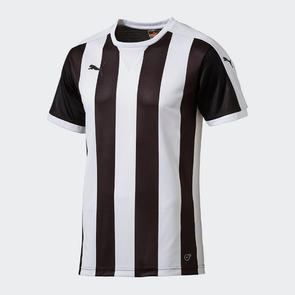 Puma Striped Team Shirt – White/Black