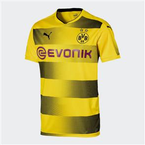 Puma 2017-18 Borussia Dortmund Home Shirt