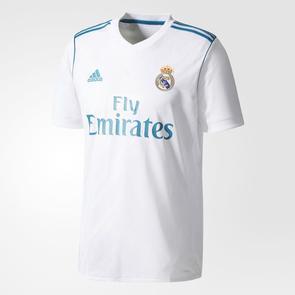 adidas 2017-18 Real Madrid Home Shirt