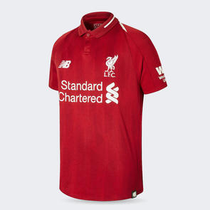 New Balance OUTLET Junior 2018-19 Liverpool Home Jersey