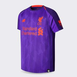 New Balance Junior 2018-19 Liverpool Away Jersey