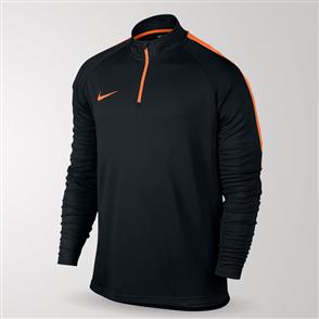 Nike Dry Academy Football Drill Top – Black/Orange