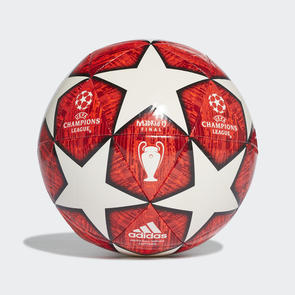 adidas Finale Madrid 19  Capitano Ball – White/Red