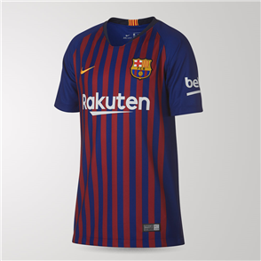 Nike Junior 2018-19 Barcelona Home Shirt