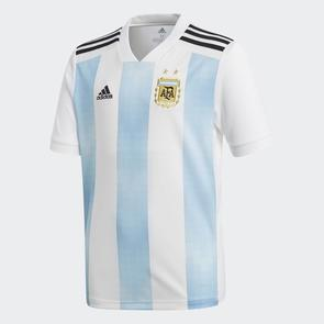 adidas Junior 2018-19 Argentina Home Shirt