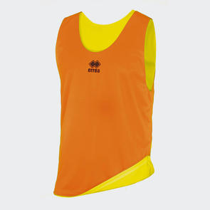 Erreà Reversible Training Bib – Orange/Yellow