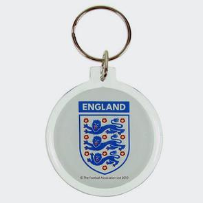England Acrylic Crest Keyring