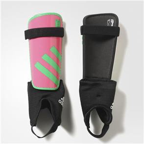adidas Junior Ghost Shin Guards – Pink/Green