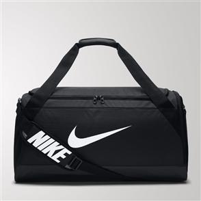 Nike Brasilia Medium Duffel Bag – Black