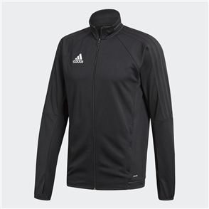 adidas Tiro 17 Training Jacket – Black
