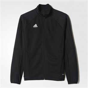 adidas Youth Tiro 17 Training Jacket – Black