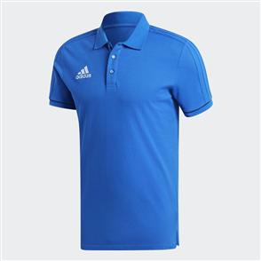 adidas Tiro 17 Cotton Polo – Blue