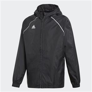 adidas Junior Core 18 Rain Jacket – Black