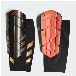 adidas Ghost Pro Shin Guards – Black/Red