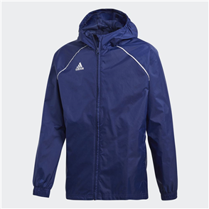 adidas Junior Core 18 Rain Jacket – Navy
