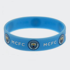 Manchester City Silicone Wristband