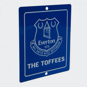 Everton Square Window Sign
