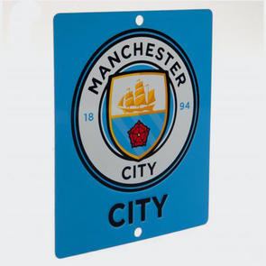 Manchester City Square Window Sign