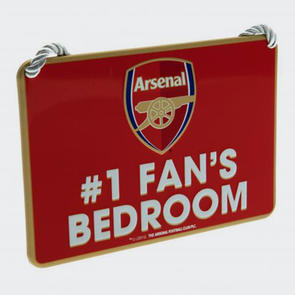Arsenal Bedroom Sign No.1 Fan